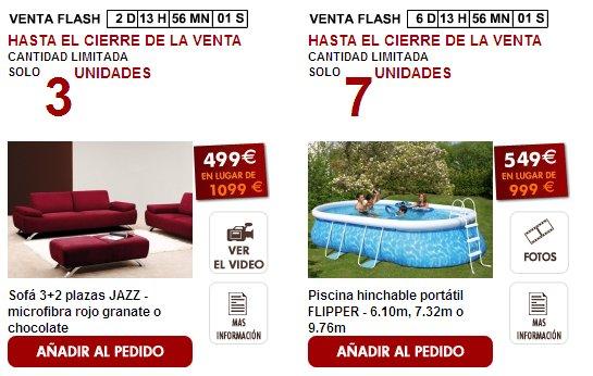 Rebajas en muebles online - Muebles por internet espana ...