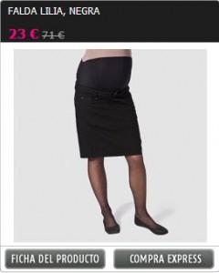 falda embarazada 1