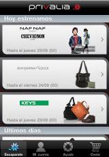 privalia iphone