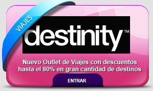 outlet de viajes destinity