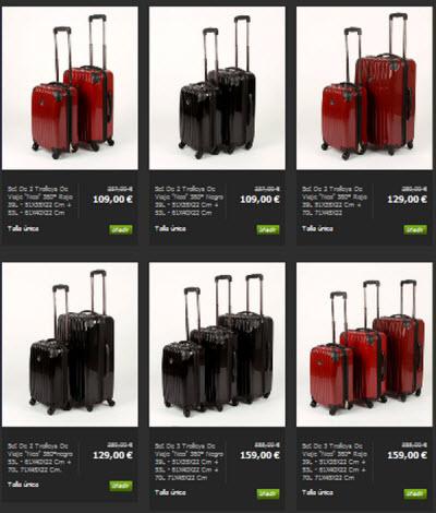 outlet maletas