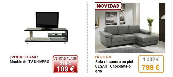Outlet decoracion y muebles ka international y venta unica for Outlet muebles online