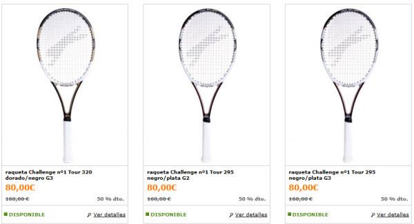 outlet raquetas slazenger