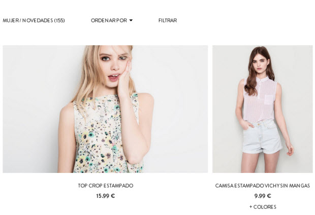 pull and bear online