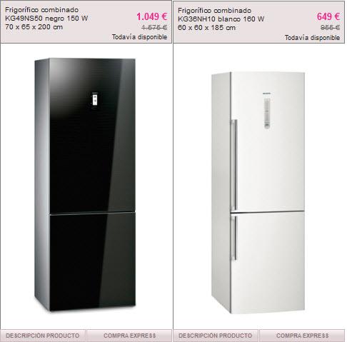 frigorificos outlet
