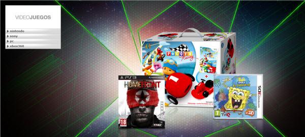 outlet de videojuegos y consolas