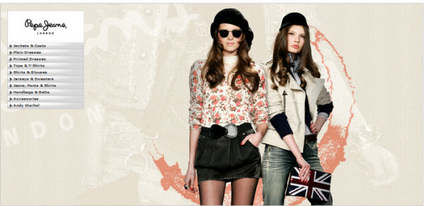 outlet pepe jeans