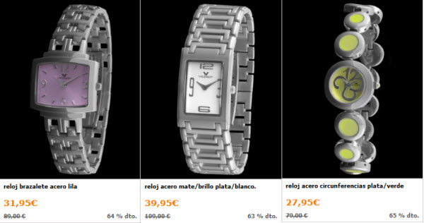 outlet relojes viceroy para mujer