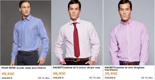 outlet camisas de vestir