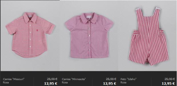 outlet ropa para niños