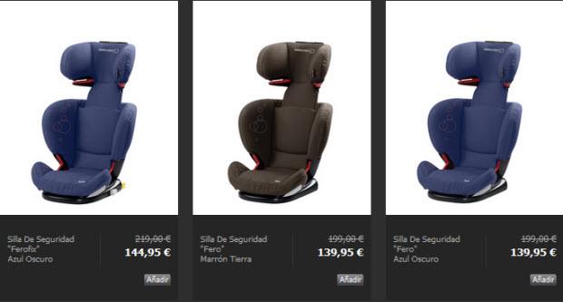 sillas de seguridad bebe confort