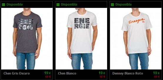 camisetas energie