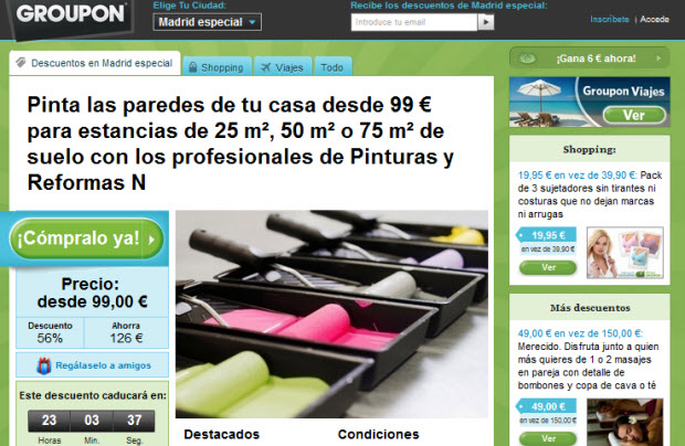 pintores outlet