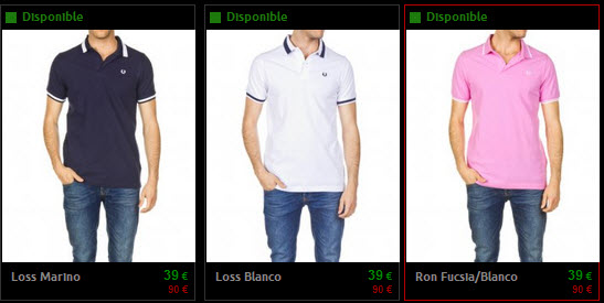 polos fred perry