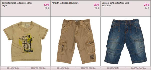 ropa DKNY para niños