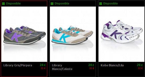 zapatillas mujer kelme