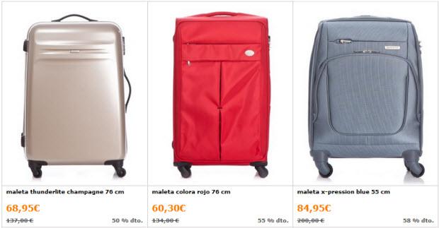 outlet de maletas