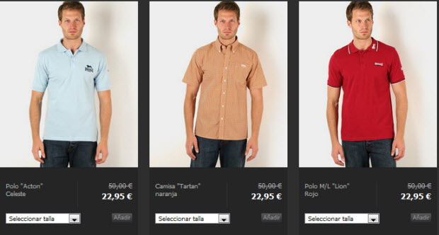camisas lonsdale