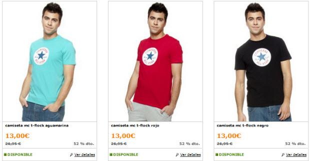 camisetas converse