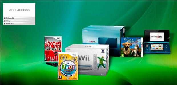 outlet de videojuegos