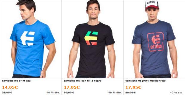 camisetas etnies