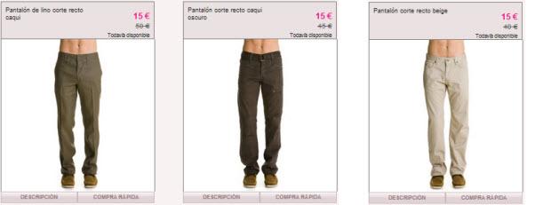 pantalones celio