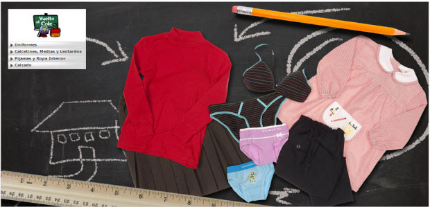 outlet uniformes de colegio