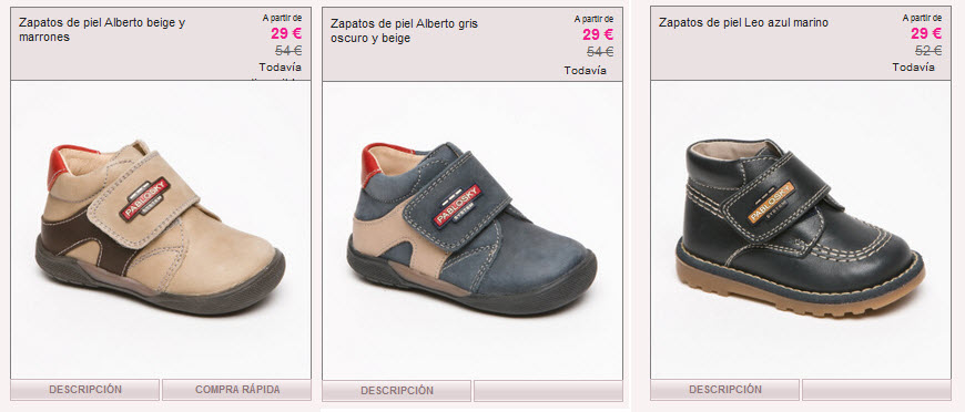 variedad de estilos de 2019 diseñador nuevo y usado oferta especial Outlet Pablosky en Vente Privee: calzado infantil de calidad ...