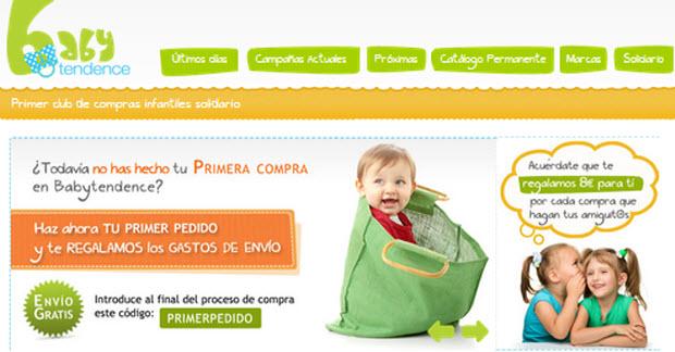 ventas privadas de ropa infantil
