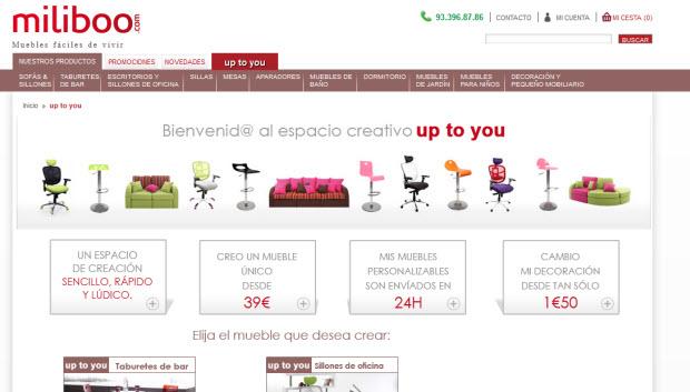ventas flash de muebles