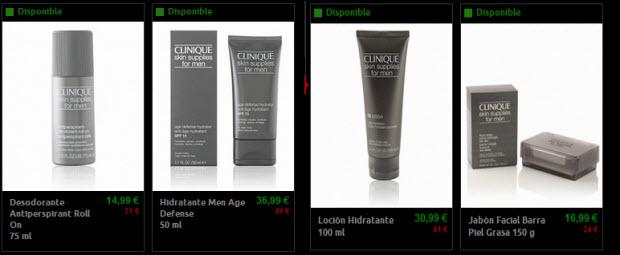 cosmeticos masculinos clinique