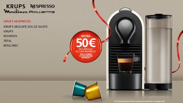outlet krups y nespresso