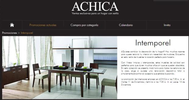 muebles achica