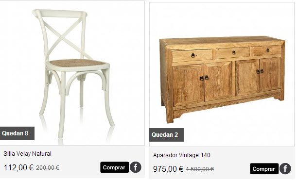 Information about outlet de ropa y ventas for Muebles outlet online espana