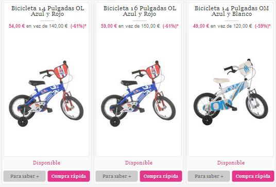 outlet de bicicletas para niños