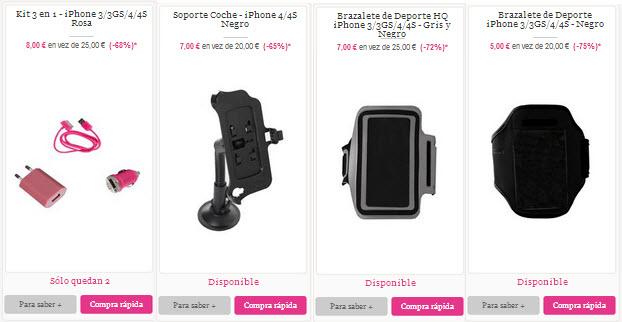 accesorios baratos para Iphone