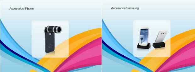 outlet de accesorios Samsung y Iphone