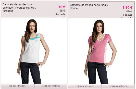 rebajas ropa deportiva de mujer