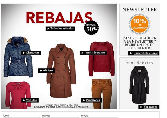 Rebajas Zara 2013: miles de prendas con descuentos del 50%