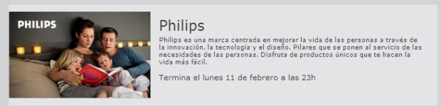 venta privada de philips