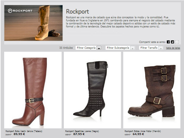 outlet rockport