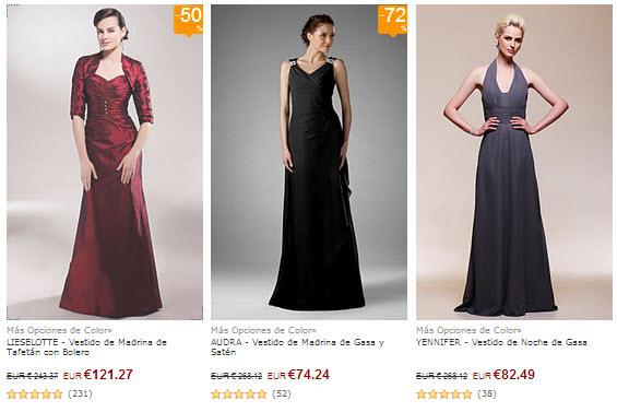 vestidos de madrina baratos