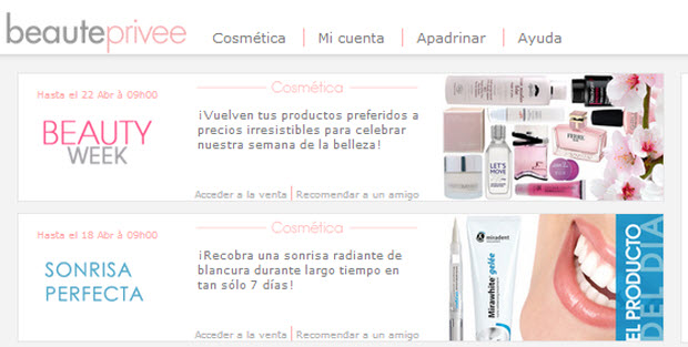 cosmetica outlet