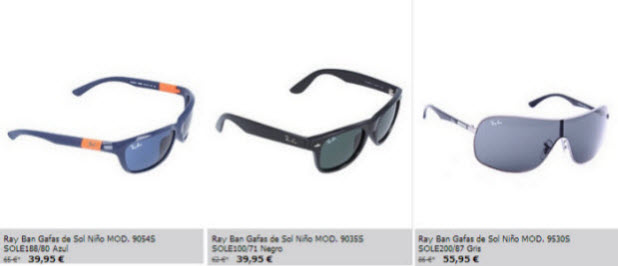 gafas outlet rayban