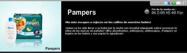 outlet pampers