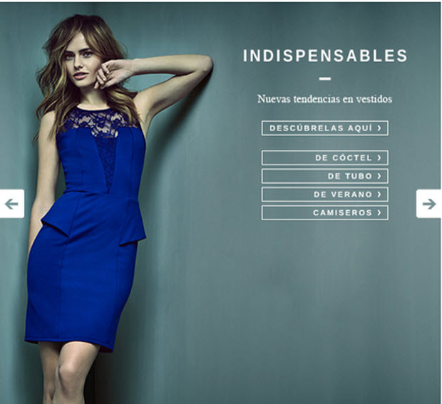 vestidos largos outlet