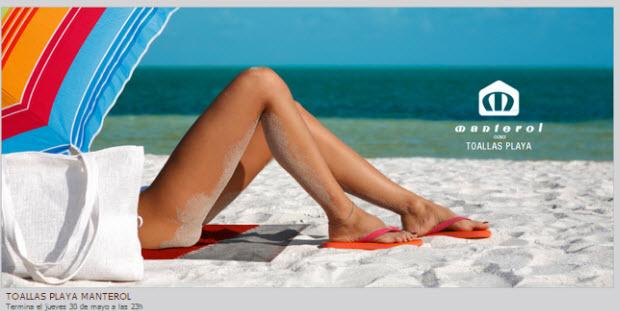 Outlet de toallas de Playa: prepara la temporada con rebajas