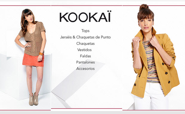 Outlet Kookai moda mujer con grandes descuentos
