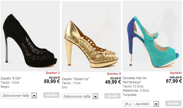 tacones nine west