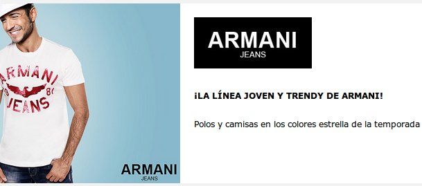 Armani Jeans outlet